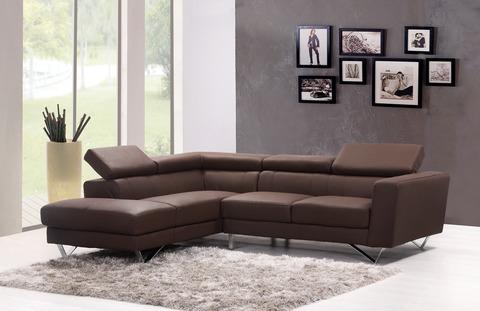 Sofa on grey carpet